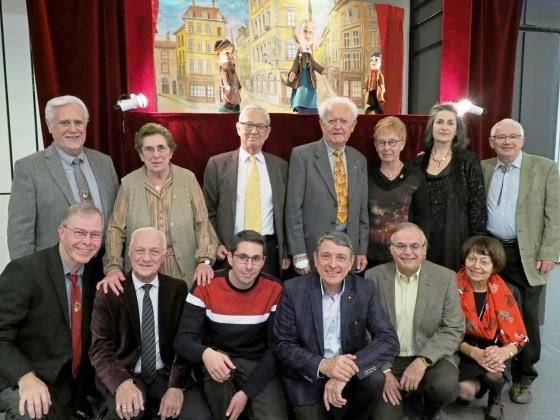 Gérard et l'équipe du Comité