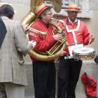 deux musiciens de la barquette de Givors