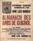 1er Almanach de 1922