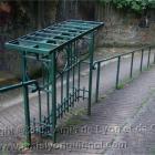 Console de repos (rue de la Carrière) : les canuts posaient leur pièce de tissu quand ils allaient chez le fabricant